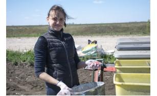 На демо-полі посіяно 13 гібридів кукурудзи